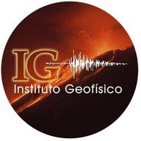 Instituto Geofísico twitter profile