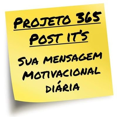 Projeto 365 Post Its On Twitter Muito Obrigado Aos 365