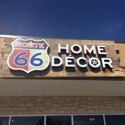 Route 66 Home Decor