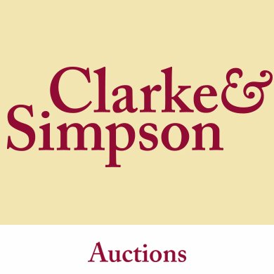clarke and simpson candsauctions twitter. Black Bedroom Furniture Sets. Home Design Ideas