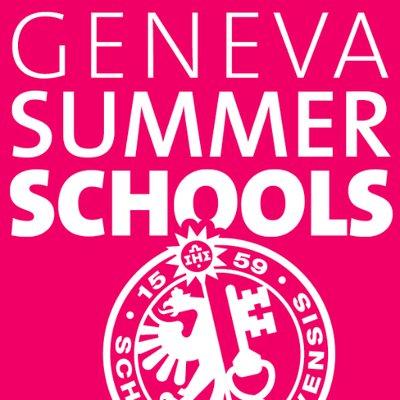 Geneva Summer School on Twitter: