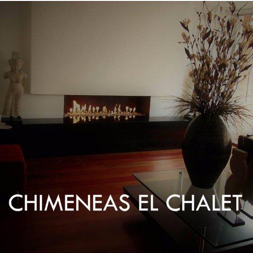 Chimeneas el chalet elchaletsa twitter - Chimenea de alcohol ...