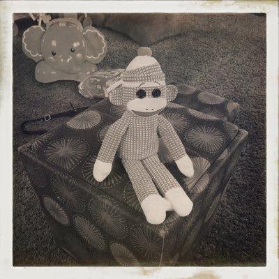 Retro Sock Monkey