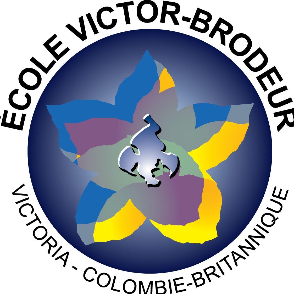 École Victor-Brodeur logo: Click to enlarge