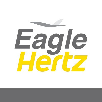 rental Hertz logo car