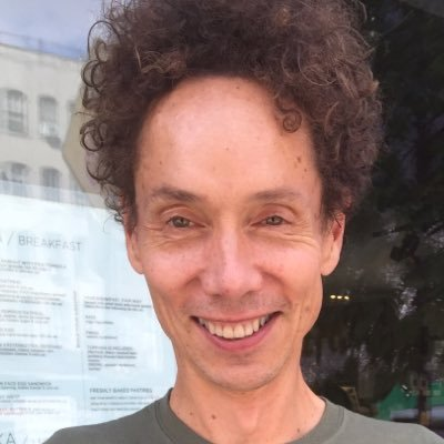 Malcolm Gladwell (@Gladwell) Twitter profile photo