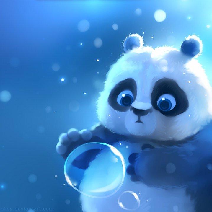 Милые картинки с мультяшными пандами
