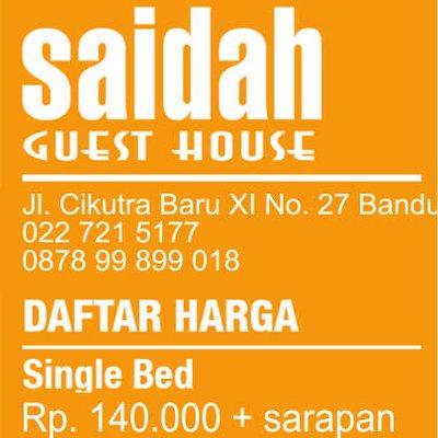 Bandung Hotel On Twitter Ayieli Jl Cikutra Baru XI No 27 Masuk