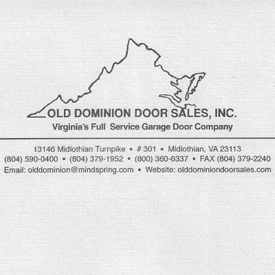 Old Dominion Door