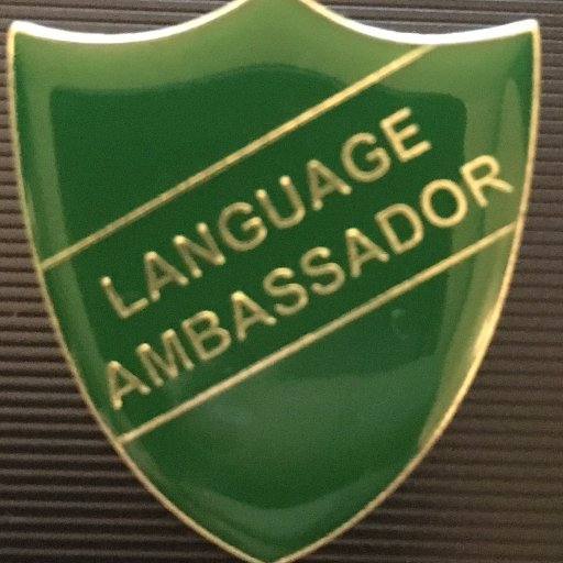 Image result for language ambassador badge
