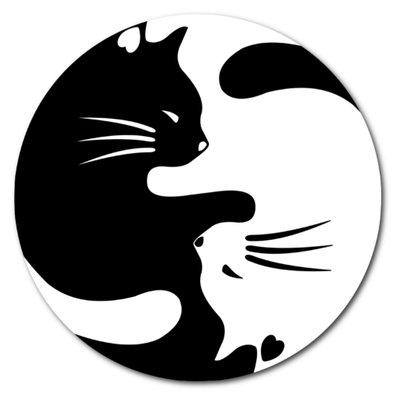 Картинки инь-янь с котиками