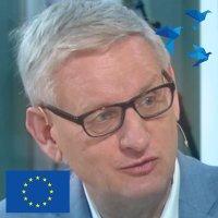Carl Bildt twitter profile