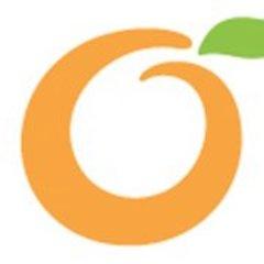 logo twitter orange