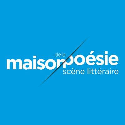 Maison de la Poésie (@maisonpoesie1) | Twitter