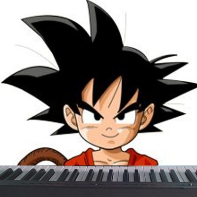 Dragon ball piano dragonballpiano twitter for Unblocked piano