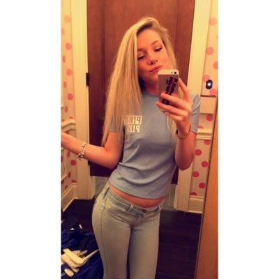 Blonde ass spread
