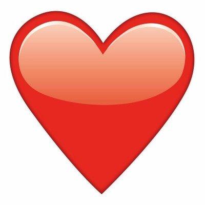 Emoji Coeur On Twitter Mdr