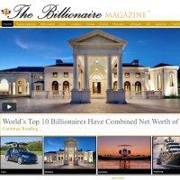 Billionaire Magazine twitter profile