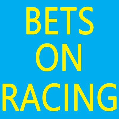 Bets On Racing on Twitter: