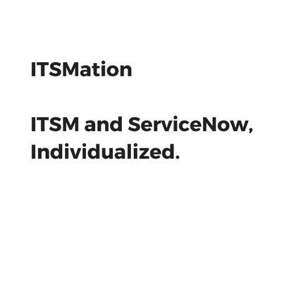 ITSMation LLC on Twitter: \