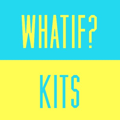 8bf4d74b2 What If  Kits on Twitter