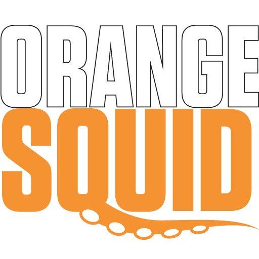Orange Squid  🦑