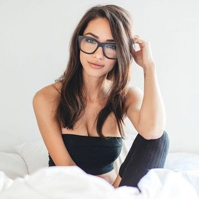 Hanging tits and nerd glasses | Adult photos)