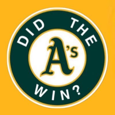 8 seasons of telling you how your A's did in the simplest way. We'll be back March 31st, 2022! 💚💛