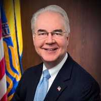 Tom Price, M.D. twitter profile