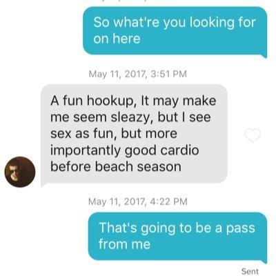 Tinder hookup fails