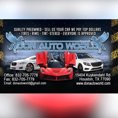 Don Auto World >> Don Auto World Donautoworld Twitter
