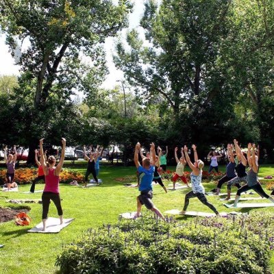 Calgary Outdoor Yoga On Twitter Excited To See Everyone In Person Again But Until Then All Classes Are Live Online See Our Bio For Insta Fb Handles 3 Classes Are Daily