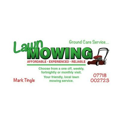 Lawn Mowing Service Tingle Mark Twitter