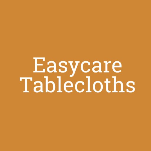 Easycare Tablecloths (@easycaretablecl)   Twitter