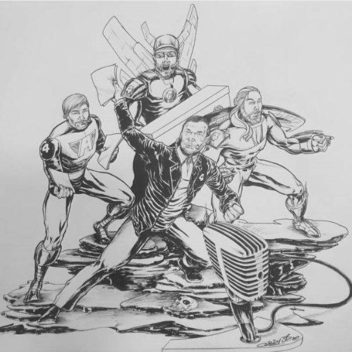 4 Guys & A Comic  🎙