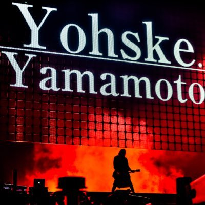 yamamoto yohske. @y_yohske