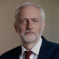 Jeremy Corbyn twitter profile