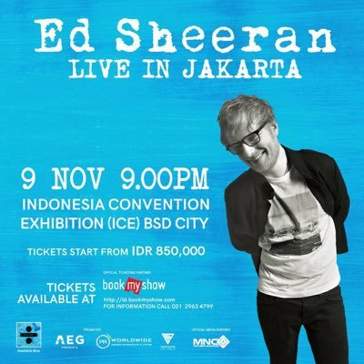 Ed Sheeran Indonesia