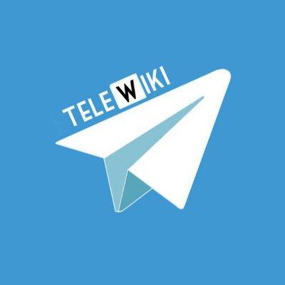 Telewiki The Telegram Wiki On Twitter Telegram Risultano