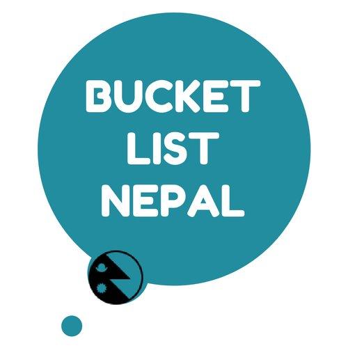 Bucket List Nepal