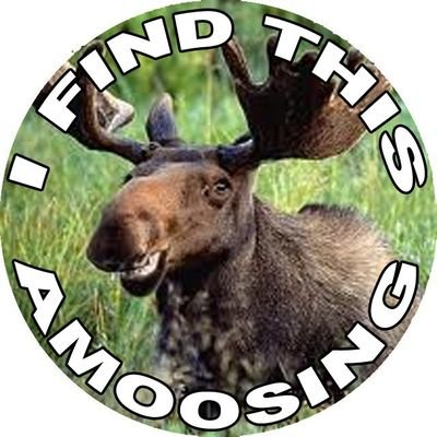 Moose Chuckle Tags