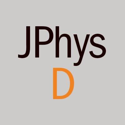 Journal of Physics D (@JPhysD) | Twitter