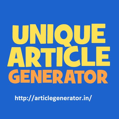 Article Generator on Twitter: