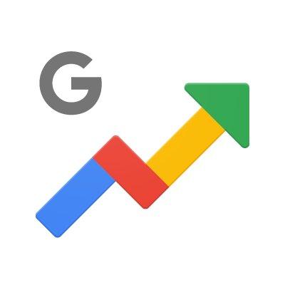 googletrends (@googletrends) twitter Google Trends Logo googletrends