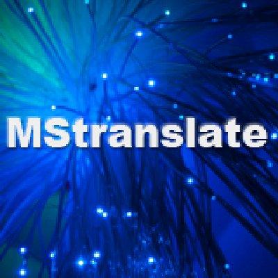 MStranslate