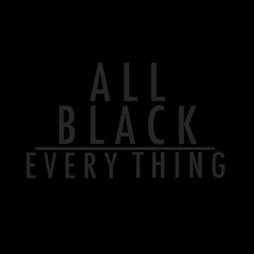 Image result for all black everything