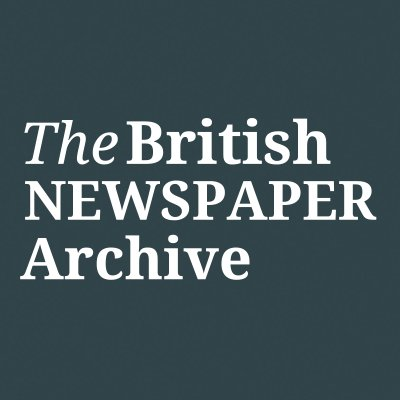 The British Newspaper Archive (@BNArchive )
