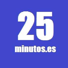 Resultado de imagen de 25minutos.es logo