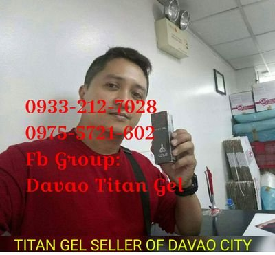 titan gel in davao city