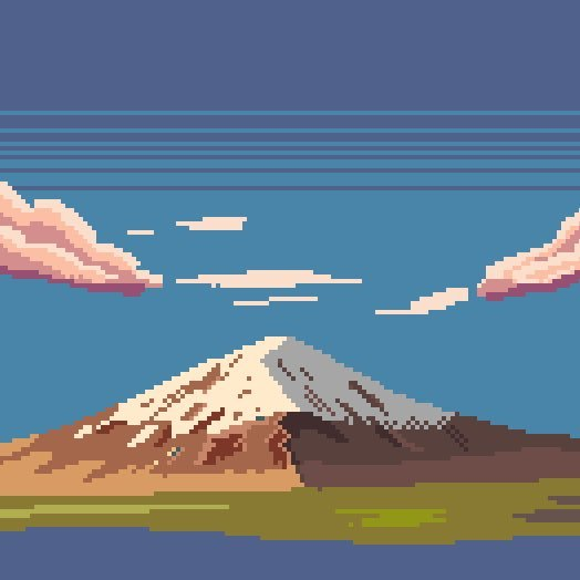 Drawing Pixel Art Landscapes